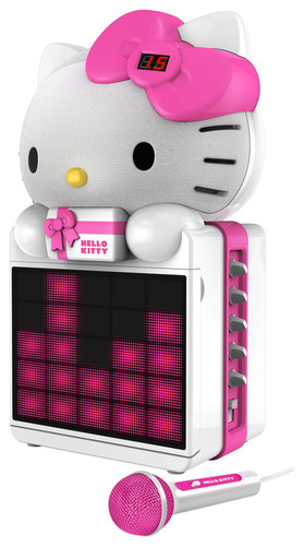 Hello Kitty - Cd+g Karaoke System - Pink/White/Black
