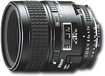 Nikon - AF Micro-NIKKOR 60mm f/2.8D Macro Lens for Select Nikon Cameras - Black