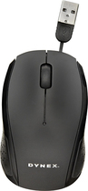 Dynex™ - USB Optical Mouse - Black