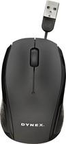 Dynex™ - USB Optical Mouse - Black