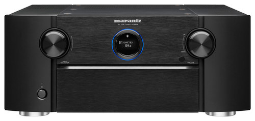 Marantz - 11.2-Ch. Network-Ready 4K Ultra HD and 3D Pass-Through A/V Home Theater Preamplifier - Black