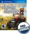 Farming Simulator 14 - PRE-OWNED - PS Vita