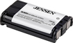 Jensen - 3.6-Volt 800 mAh NiMH Battery for Panasonic 5.8GHz Cordless Phones - Black