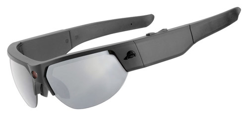 Pivothead - Kudu 8.0-Megapixel Digital Sunglasses - Matte Black