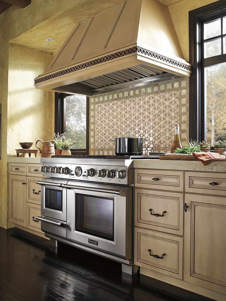 Thermador Self Cleaning Freestanding Double Oven Dual Fuel Convection Range At Pacific S