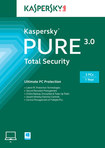 Kaspersky PURE 3.0 Total Security (3-Device) (1-Year Subscription) - Windows