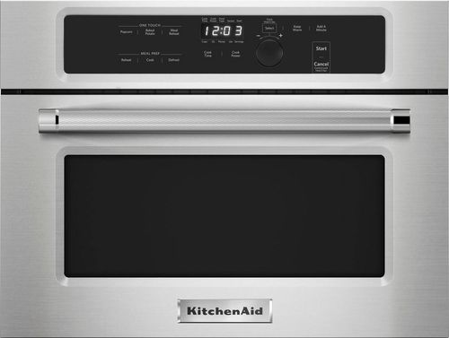 KitchenAid - 1.4 Cu. Ft. Built-In Microwave - Stainless Steel