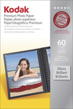 Kodak - Premium Gloss Photo Paper - White