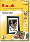 Kodak - Ultra High-Gloss Photo Paper - White