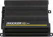 Kicker - CX Series 300W Class D Mono Amplifier with Variable Low-Pass Crossover - Black