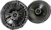 "Kicker - CS65 6-1/2"" Coaxial Speakers with Polypropylene Woofer Cones (Pair) - Black"