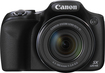Canon - PowerShot SX520 HS 16.0-Megapixel Digital Camera - Black