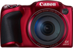 Canon - PowerShot SX400 IS 16.0-Megapixel Digital Camera - Red