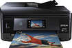 Epson - Expression Photo XP860 Small-in-One Wireless Printer - Black/Blue