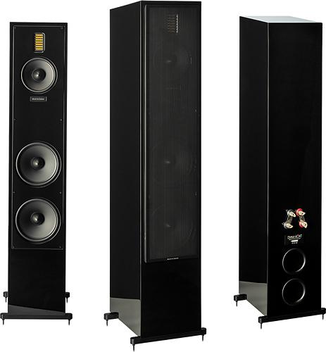 "MartinLogan - Motion 60XT Dual 8"" 3-Way Floorstanding Speaker (Each) - Gloss Black"