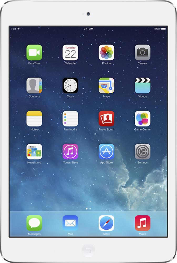 Apple - Ipad Mini With Retina Display With Wi-fi + Cellular - 128gb - (sprint) - Silver/white