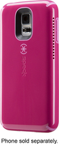 Speck - CandyShell Amped Case for Samsung Galaxy S 5 Cell Phones - Raspberry Pink/Flamingo Pink