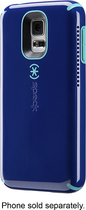 Speck - CandyShell Amped Case for Samsung Galaxy S 5 Cell Phones - Blue/Caribbean Blue