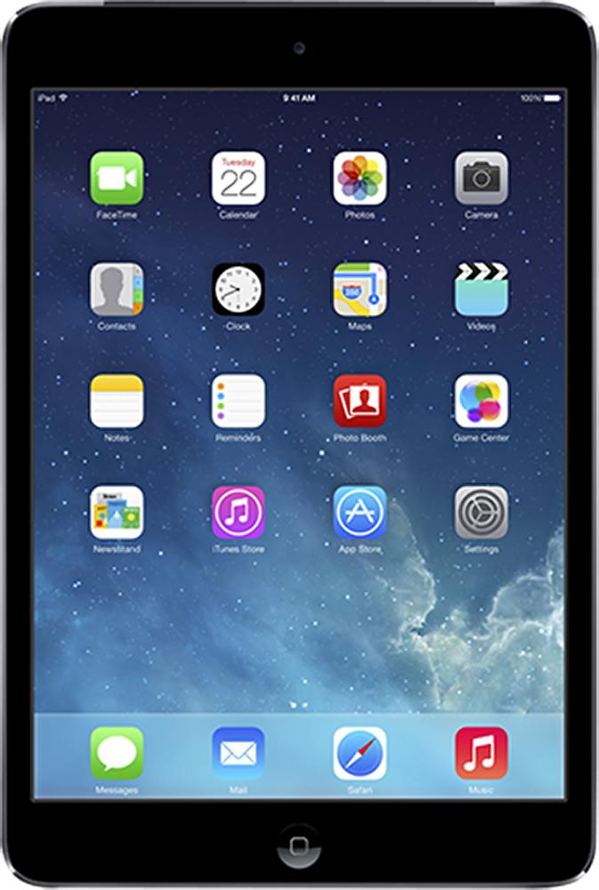 Apple - Ipad Mini With Retina Display With Wi-fi + Cellular - 64gb - (sprint) - Space Gray/black