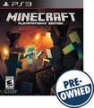 Minecraft: PlayStation 3 Edition - PRE-OWNED - PlayStation 3