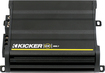 Kicker - CX Series CX600.1 1200W Class D Mono Amplifier with Adjustable KickEQ Bass Boost - Black