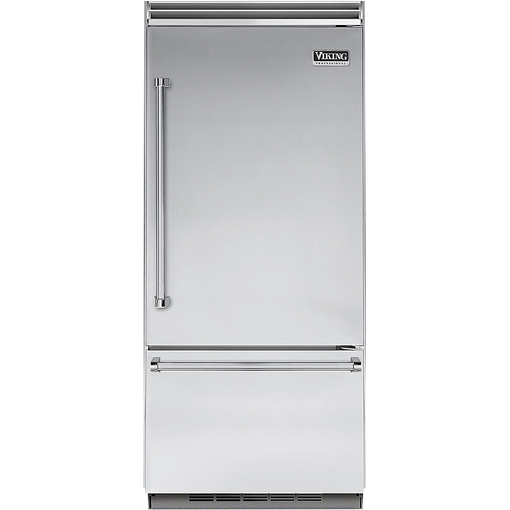 viking refrigerator inside. viking - professional 5 series quiet cool 20.4 cu. ft. bottom-freezer built-in refrigerator stainless steel at pacific sales inside