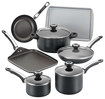 Click here for Farberware - 17-piece Cookware Set - Black prices