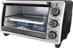 Black & Decker - Convection Toaster/Pizza Oven - Black