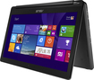 "Asus - Geek Squad Certified Refurbished Flip 2-in-1 15.6"" Touch-screen Laptop - Intel Core I5 - 8gb Memory - 1tb Hard Drive - Black"