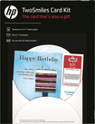HP - TwoSmiles Glossy Photo Paper Card Kit