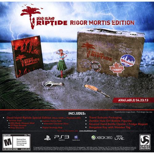Dead Island Riptide Rigor Mortis Edition - Xbox 360