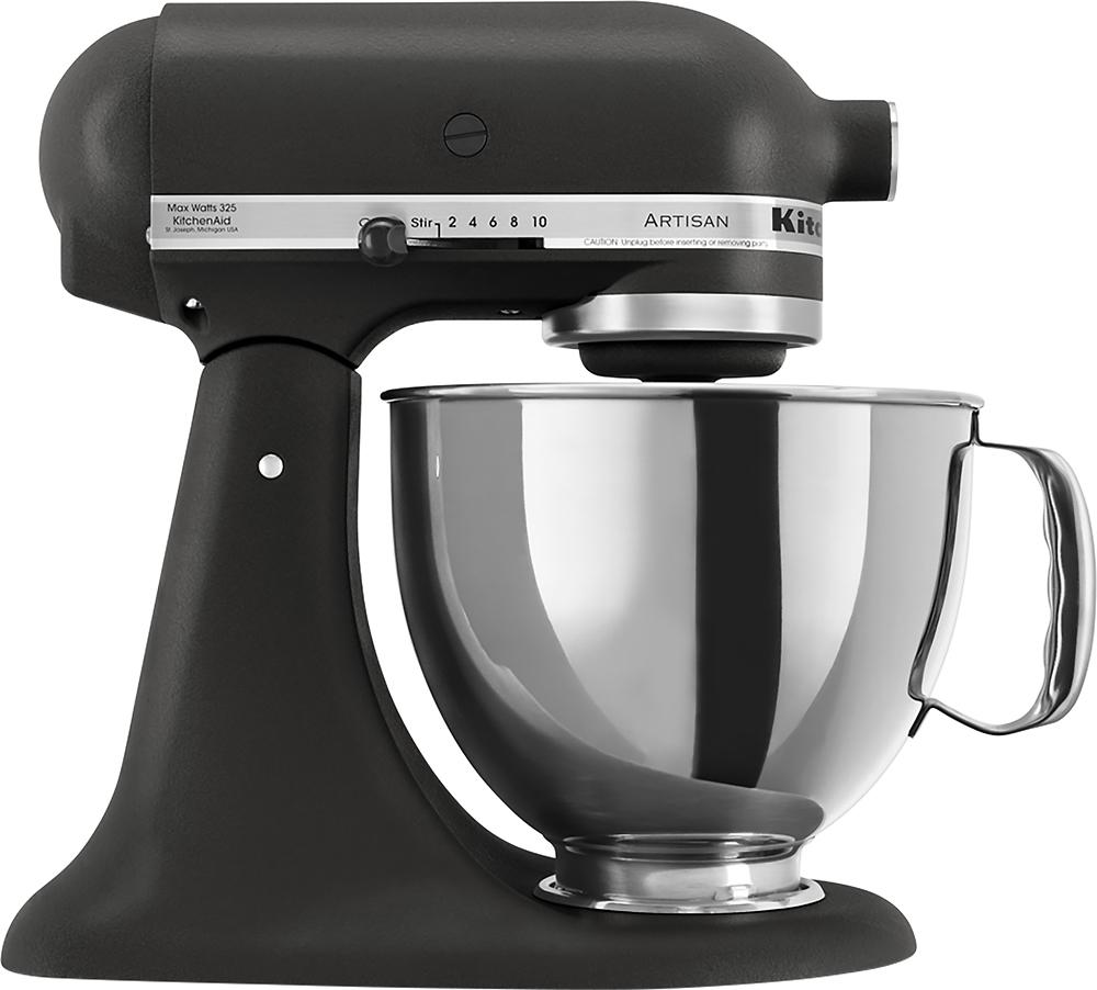 KitchenAid - Artisan Series Tilt-Head Stand Mixer - Imperial Black