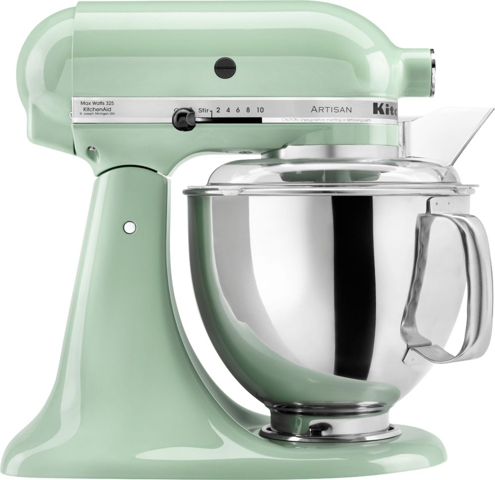 Kitchen Aid Ice Blue Kitchenaid Artisan Series Tilt Head Stand Mixer Green Ksm150pspt