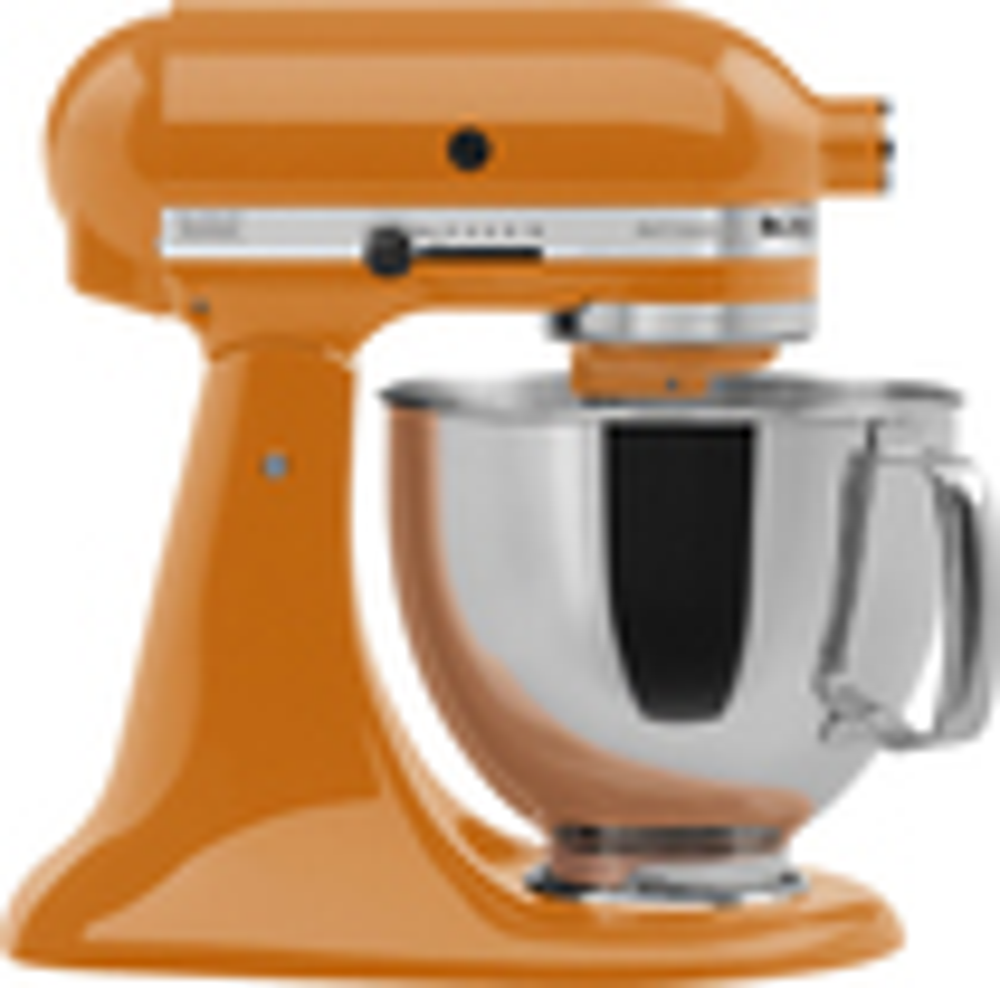 KitchenAid - Artisan Series Tilt-Head Stand Mixer - Tangerine (Orange)