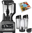Ninja - Ultima Dual Stage 72-Oz. Blender - Black/Chrome