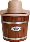 Nostalgia Electrics - Vintage Collection 2-Quart Ice Cream Maker - Dark Brown