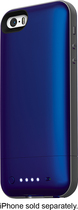 mophie - juice pack air External Battery Case for Apple® iPhone® 5 and 5s - Blue