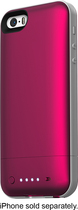 mophie - juice pack air External Battery Case for Apple® iPhone® 5 and 5s - Pink