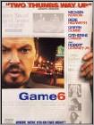 Game 6 (DVD) (Enhanced Widescreen for 16x9 TV) (Eng) 2005