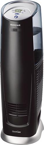 Honeywell - QuietCare UV Tower 3-Gallon Humidifier - Black