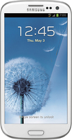 Boost Mobile - Samsung Galaxy S III 4G No-Contract Cell Phone - White