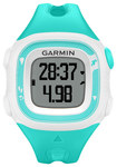 Garmin - Forerunner 15 GPS Watch (Small) - Teal/White