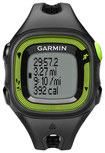Garmin - Forerunner 15 GPS Watch (Small) - Black/Green