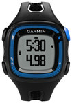 Garmin - Forerunner 15 GPS Watch (Large) - Black/Blue