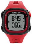 Garmin - Forerunner 15 GPS Watch (Large) - Red/Black