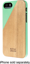 Native Union - CLIC Wooden Case for Apple® iPhone® 5 and 5s - Jade