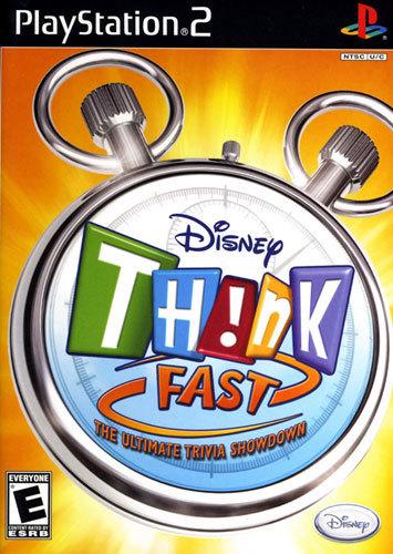 Disney THINK Fast - PlayStation 2