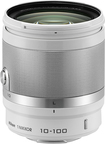 Nikon - 1 Nikkor 10-100mm F/4.0-5.6 Vr Standard Zoom Lens For Most Nikon 1 Cameras - White