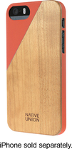 Native Union - CLIC Wooden Case for Apple® iPhone® 5 and 5s - Terracotta