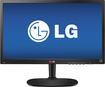 "LG - 21.5"" LED HD Monitor - Black"